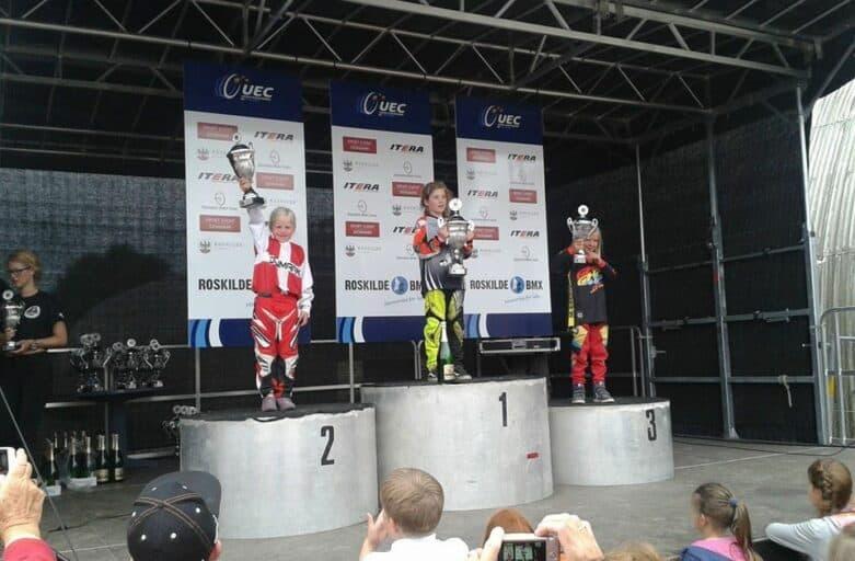 Eline Dyhre, Europacup BMX, Piger 7 år