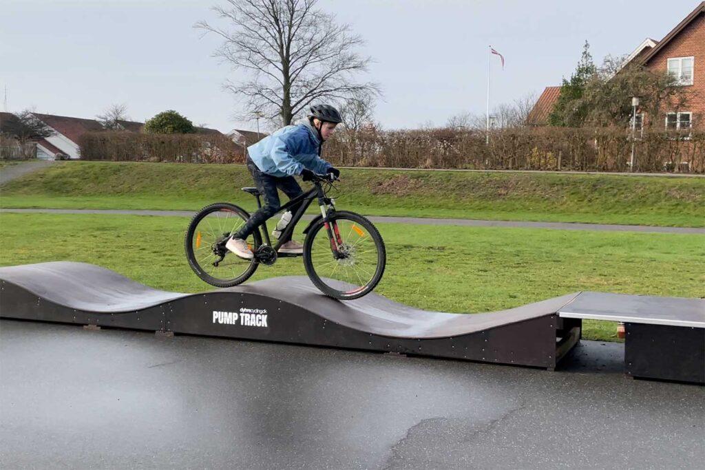Pumpe fart i cyklen